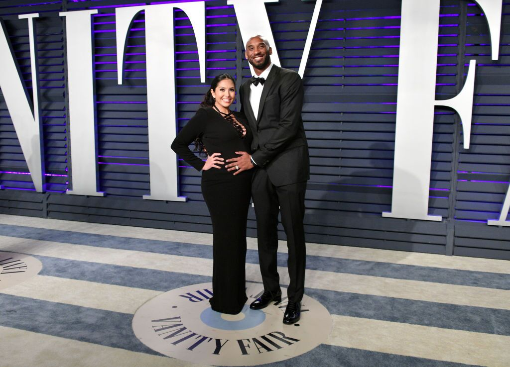 Vanessa Laine Bryant (L) and Kobe Bryant attend the 2019 Vanity Fair Oscar Party hosted by Radhika Jones | Getty Images / Global Images Ukraine