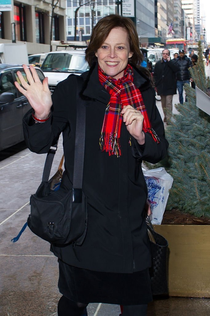 """Sigourney Weaver attends the """"The Wolf Of Wall Street"""" luncheon at Four Seasons Restaurant  