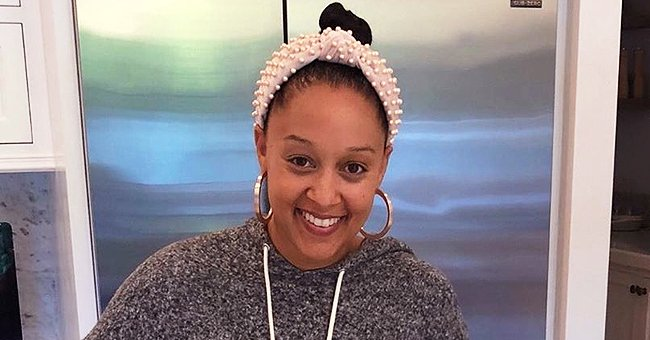 Check Out Tia Mowry's Recreation of a Cute Throwback Pic from Her Childhood