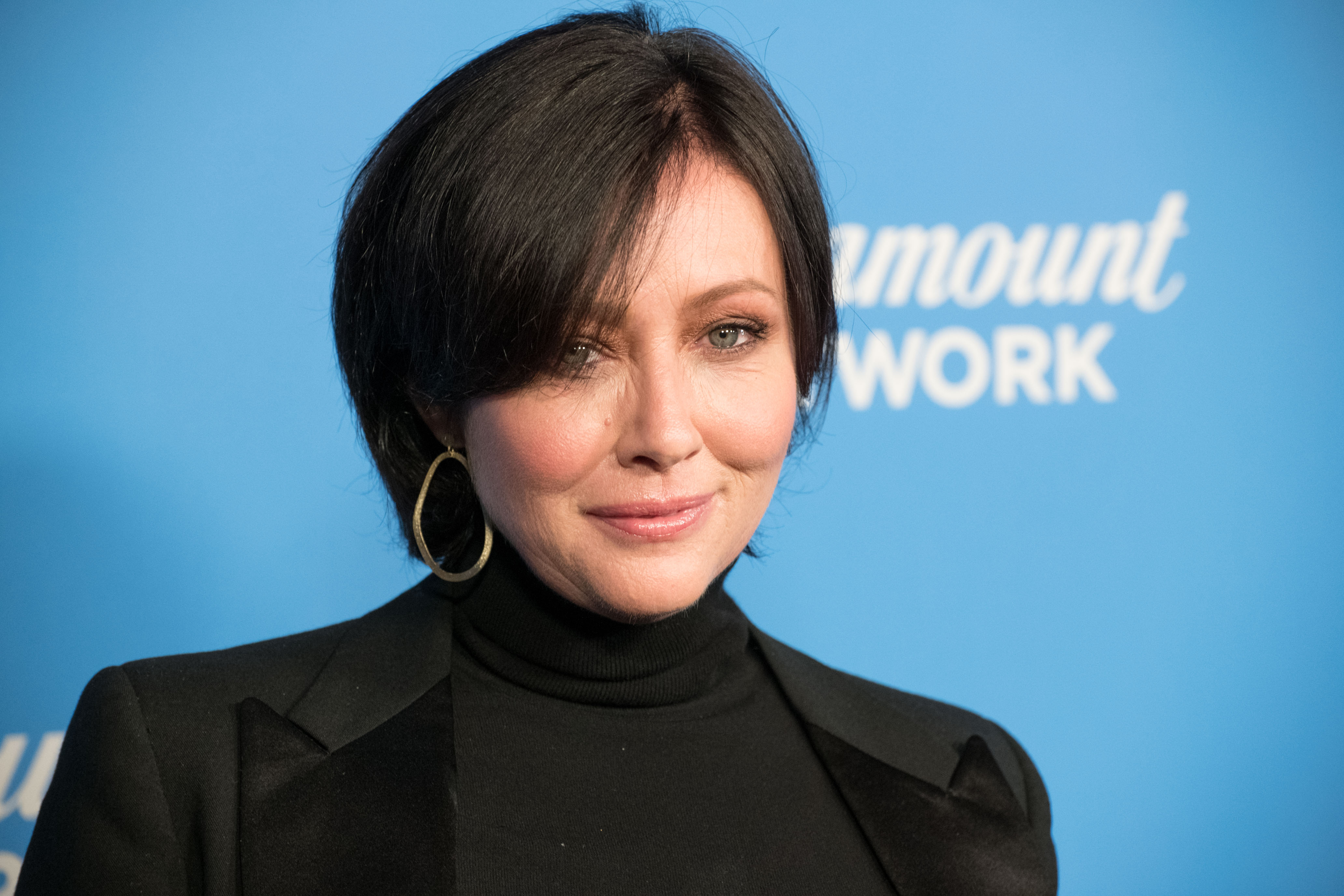 Shannen Doherty attends Paramount Network Launch Party at Sunset Tower on January 18, 2018 | Photo: GettyImages
