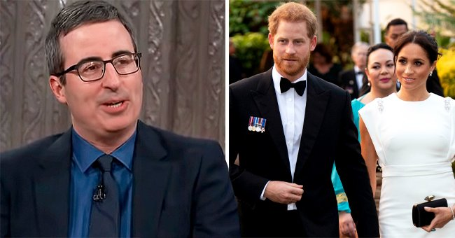 John Oliver's 2018 Warning to Meghan Markle Unearthed after Bombshell Oprah Interview