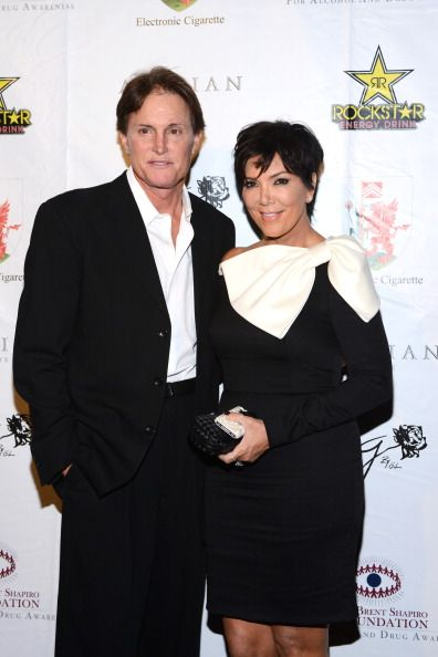Bruce Jenner and Kris Jenner arrive at the Brent Shapiro Foundation: The Summer Spectacular on September 15, 2012 in Beverly Hills, California.   Source: Getty Images