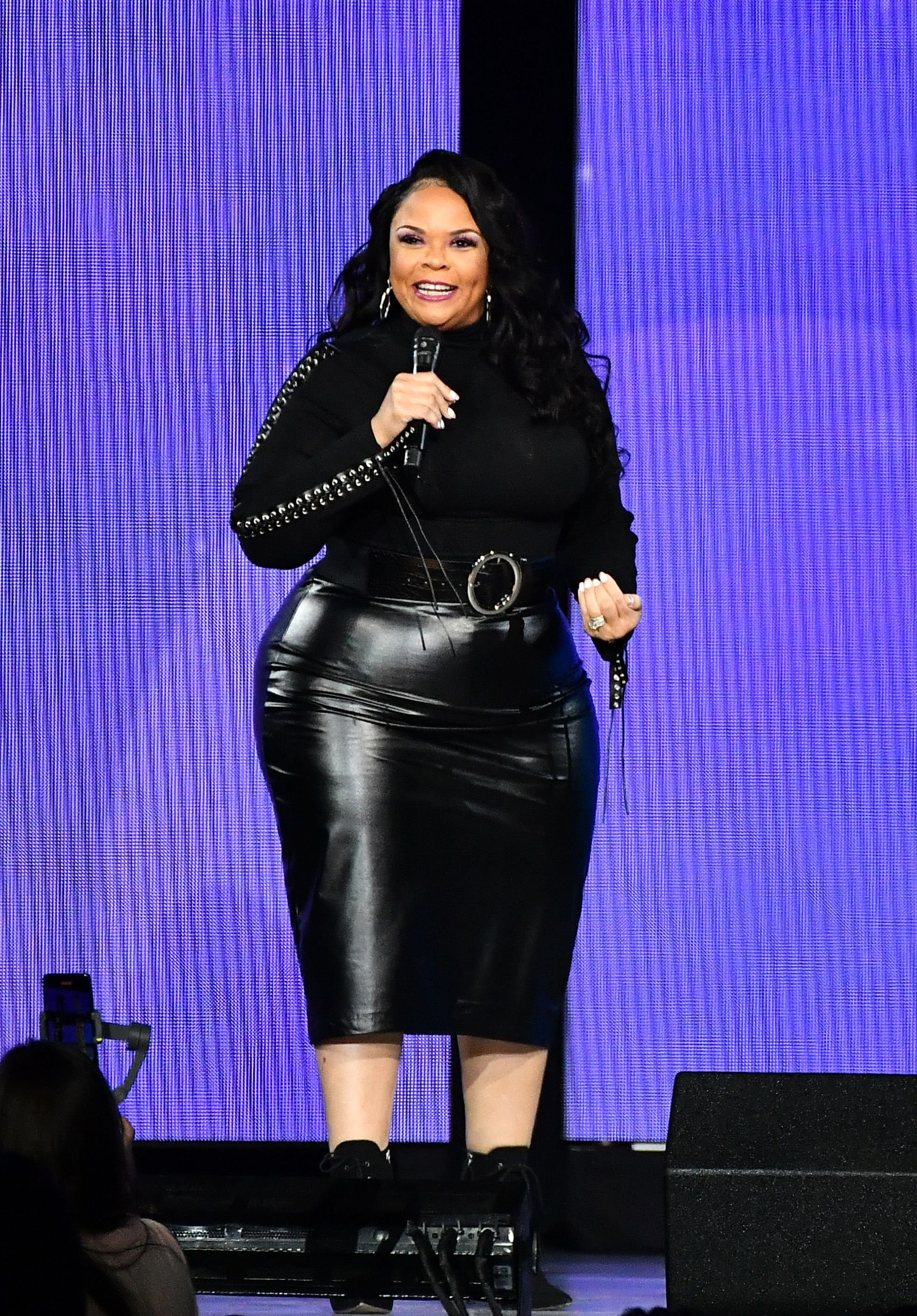Tamela Mann performed during Oprah's 2020 Vision: Your Life in Focus Tour at State Farm Arena on January 25, 2020 in Atlanta, Georgia | Photo: Getty Images