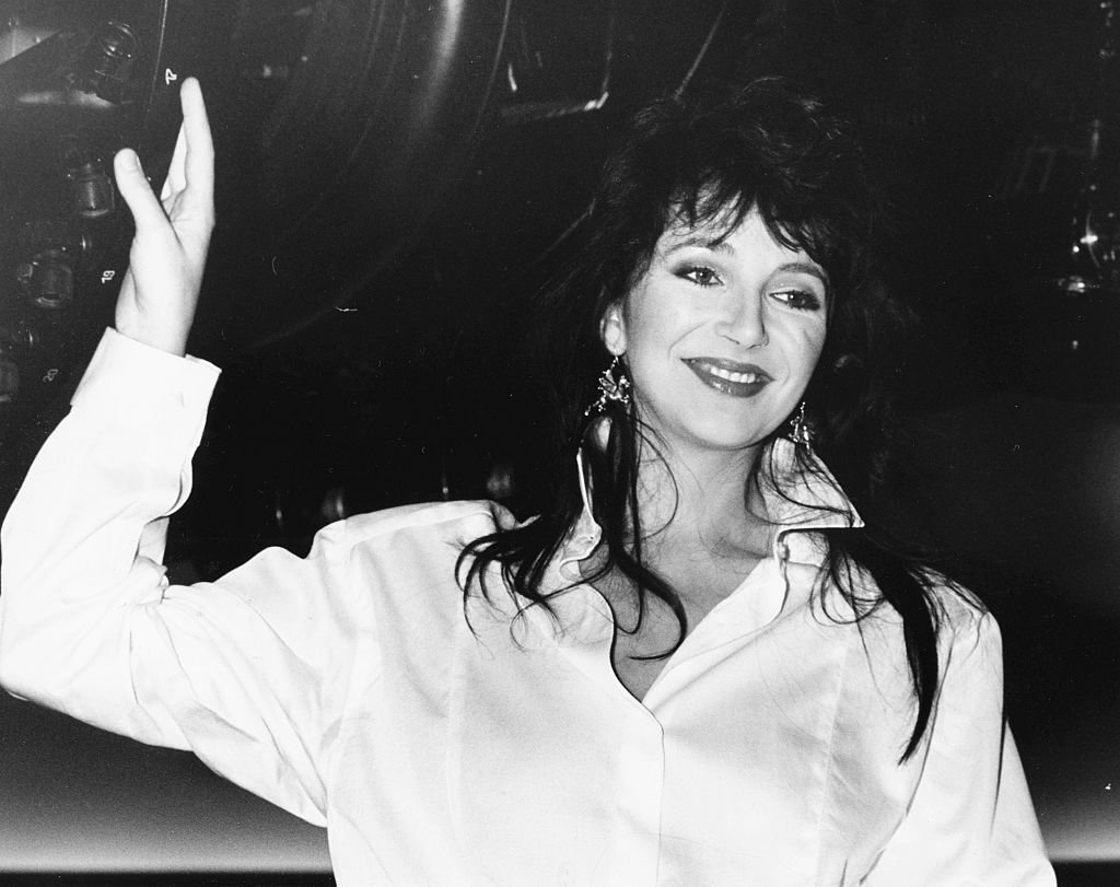 Musician Kate Bush promoting her new album 'Hounds of Love' at London Planetarium, September 9th 1985 | Photo: Getty Images