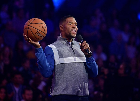 Michael Strahan onstage during Nickelodeon Kids' Choice Sports 2019 at Barker Hangar in Santa Monica, California. | Photo: Getty Images