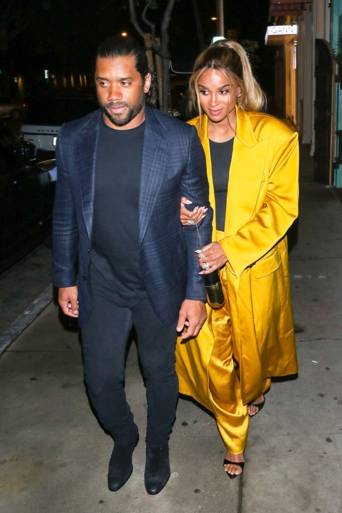 Russell Wilson and Ciara are seen on February 9, 2020 in Los Angeles, California | Photo: Getty Images