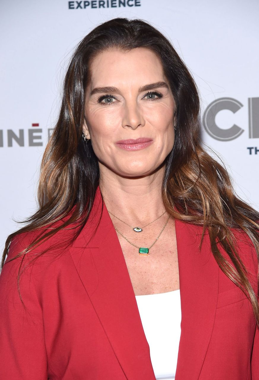 Brooke Shields attends the opening of CMX CineBistro with special screenings of 'Blackkklansman', 'City Lights' and 'Pretty Baby' at CMX CineBistro on November 7, 2018 in New York City. | Source: Getty Images