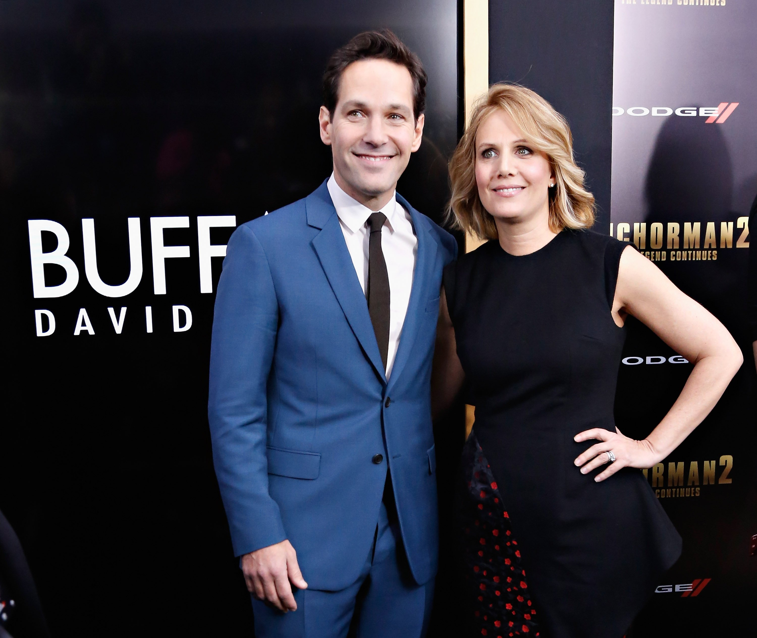 Paul Rudd and Julie Yaeger on December 15, 2013 in New York City | Source: Getty Images