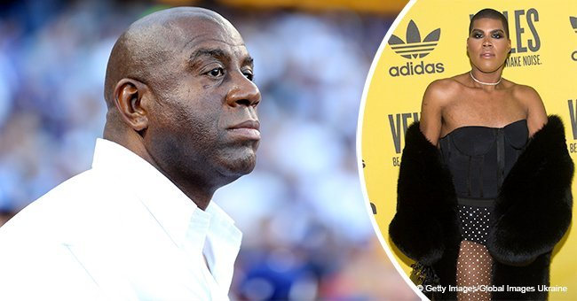 Magic Johnson gets slammed after sharing birthday message to his gay son E. J.