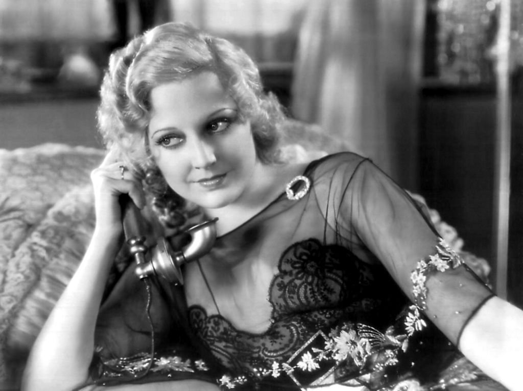 "Schauspielerin Thelma Todd in einer Szene aus dem Film ""The Maltese Falcon"" (Foto von Donaldson Collection) I Quelle: Getty Images"