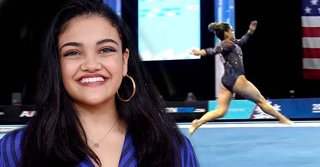 Gymnast Laurie Hernandez Makes Her Return Competing with 'Hamilton' Routine at the Winter Cup