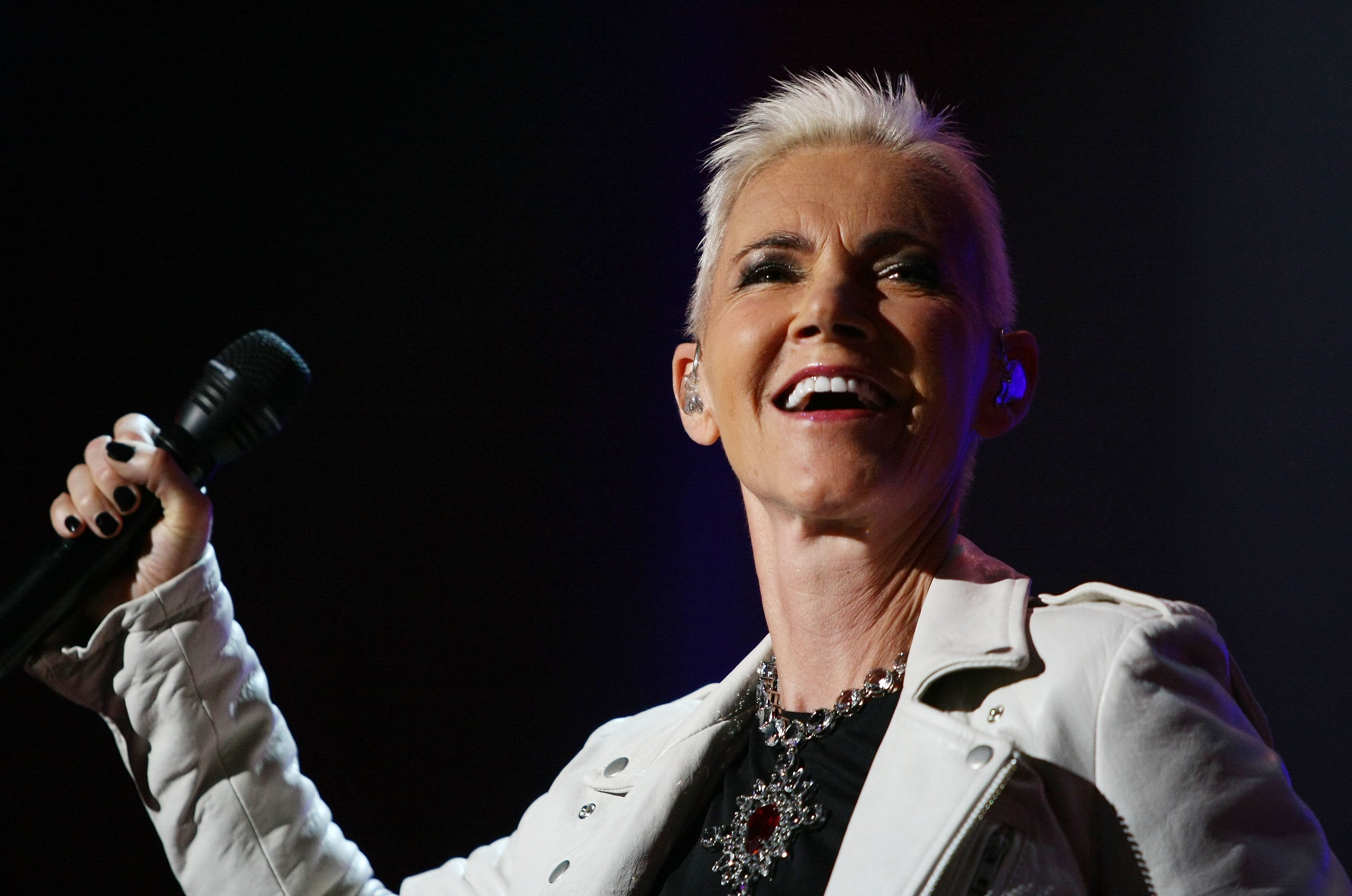 Marie Fredriksson of Roxette performs on stage during their concert at Sydney Entertainment Centre on February 16, 2012 | Photo: GettyImages