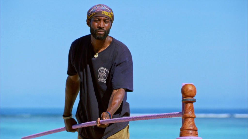 Jeremy Collins on the Eleventh episode of SURVIVOR: WINNERS AT WAR, on the CBS Television Network   Photo: Getty Images