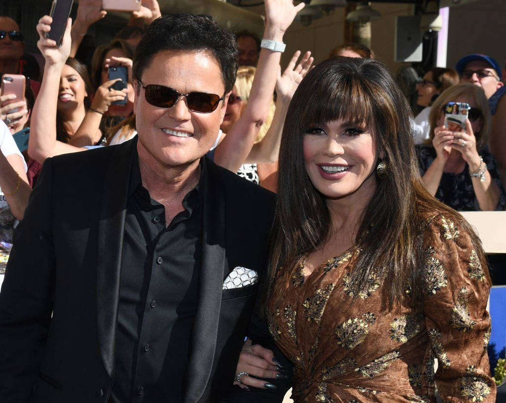 Donny Osmond and Marie Osmond arrive at the unveiling of their star from the Las Vegas Walk of Stars. | Photo: Getty Images