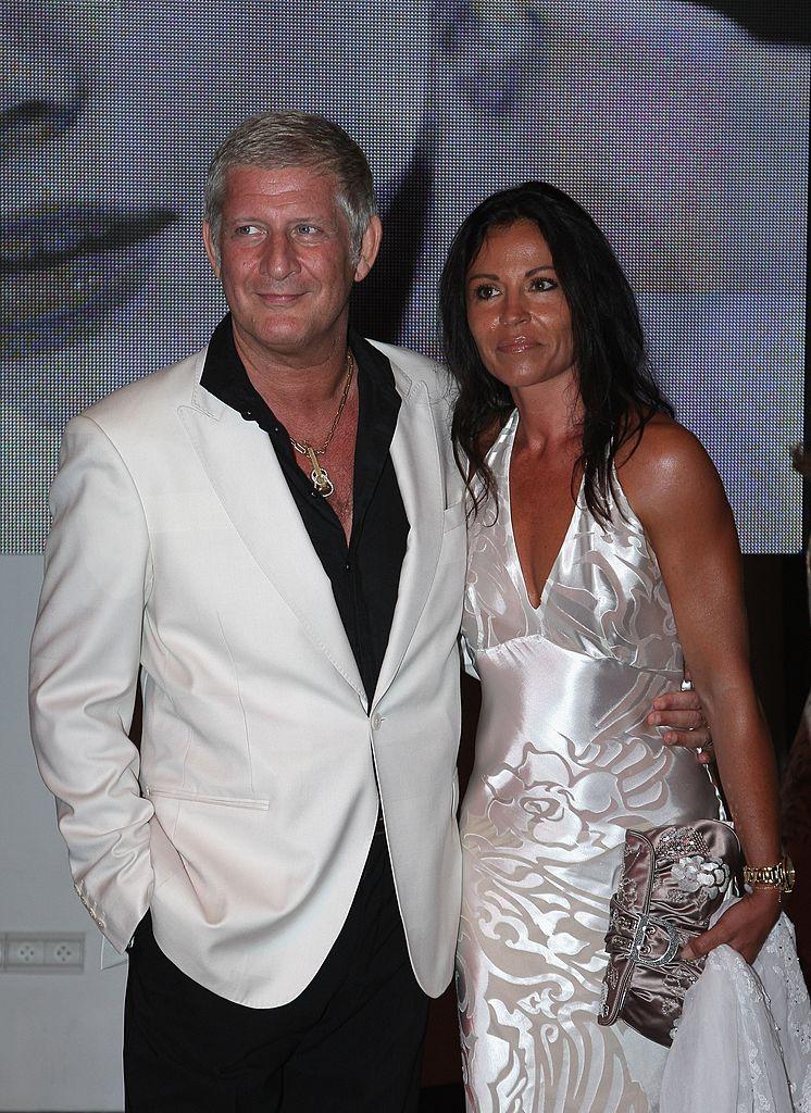 Patrick Sébastien et sa femme Nathalie en 2007. l Source: Getty Images
