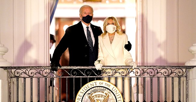 Jill Biden's Embroidered Dress at the Inauguration Concert Reflects Each State's Federal Flower