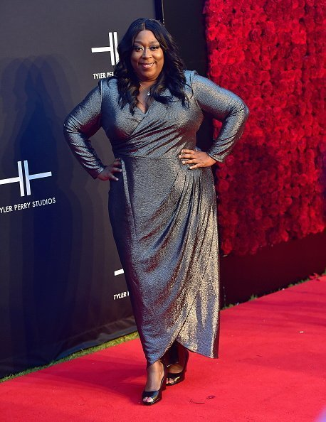 Loni Love at the Tyler Perry Studios Grand Opening Gala on October 5, 2019 | Photo: Getty Images