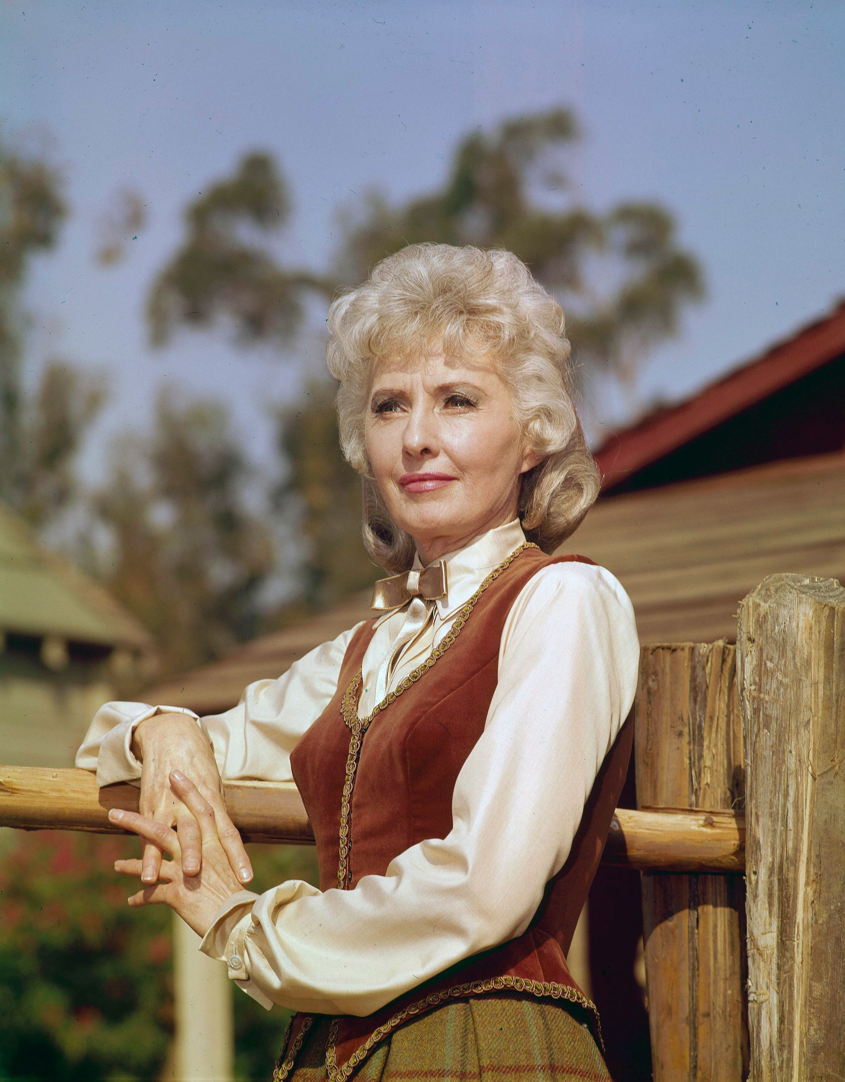 """Barbara Stanwyck in """"The Big Valley"""" 1967. 