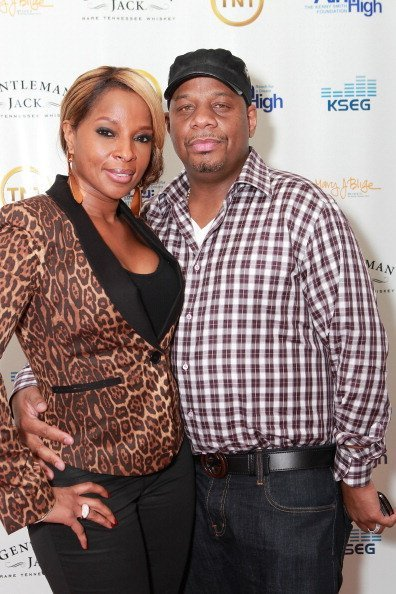 Mary J. Blige and Kendu Isaacs at the 10th Annual Kenny The Jet Smith NBA All-Star Bash on February 24, 2012 | Photo: Getty Images