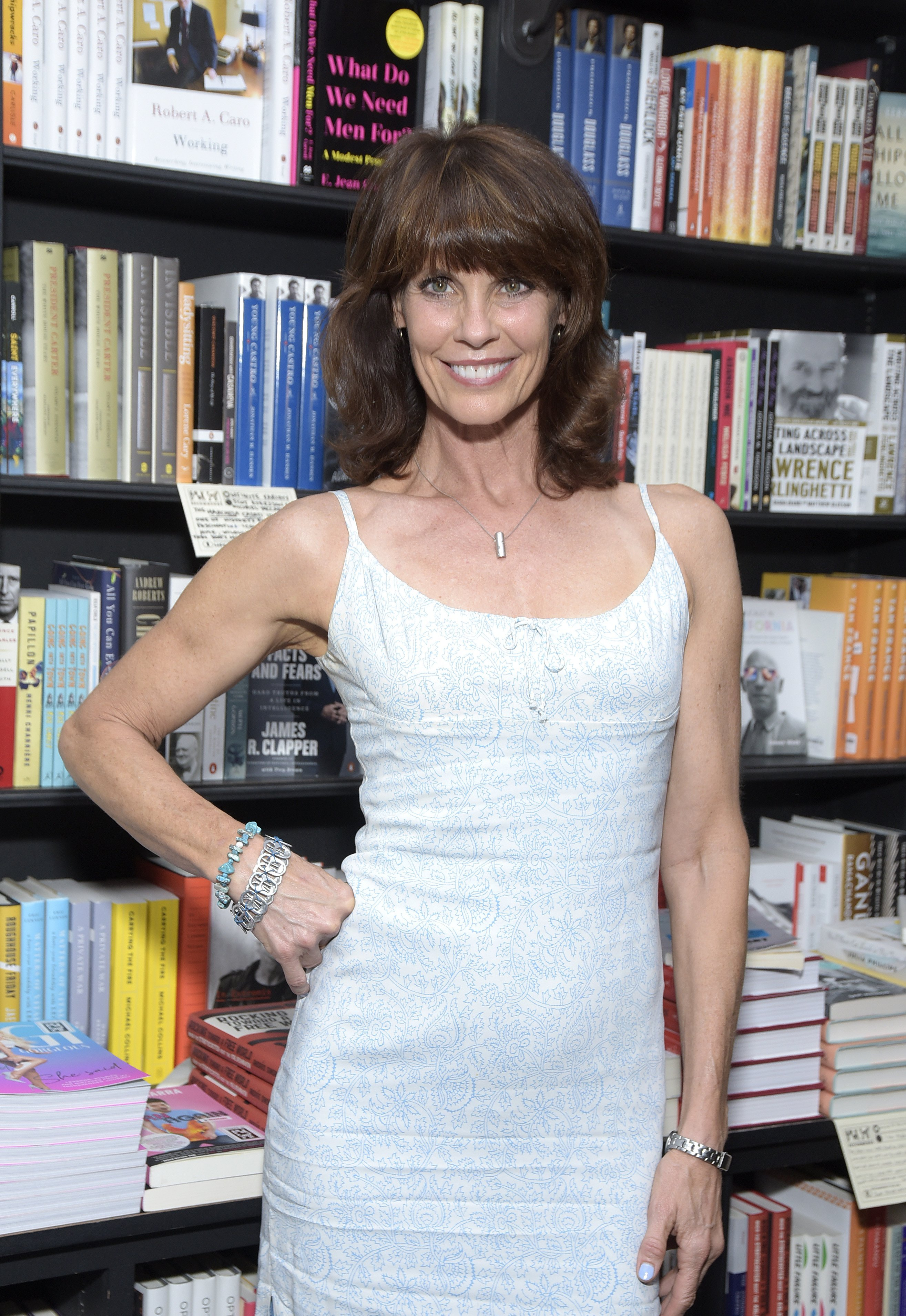 Alexandra Paul attends a signing event at Book Soup on August 02, 2019, in West Hollywood, California. | Source: Getty Images.
