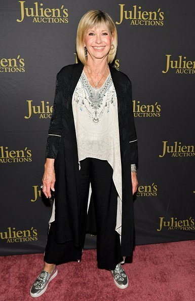 "Olivia Newton-John at the VIP reception for upcoming ""Property of Olivia Newton-John Auction Event on October 29, 2019 