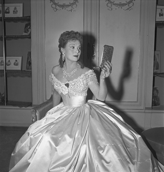 L'actrice française Edwige Feuillere. | Photo : Getty Images