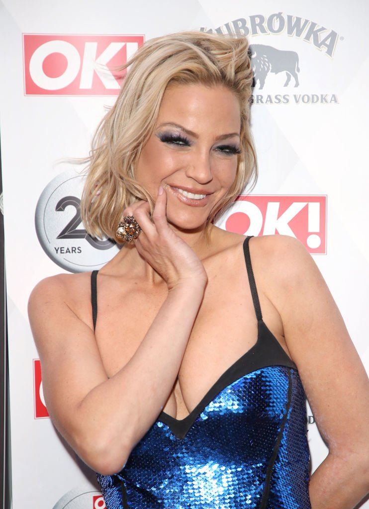 Sarah Harding assisteà la 25e anniversaire du magazine The View from The Shard, le 21 mars 2018 à Londres. | Photo : Getty Images