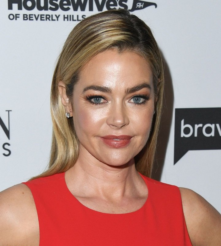 "Denise Richards attending Bravo's Premiere Party For ""The Real Housewives Of Beverly Hills"" Season 9 And ""Mexican Dynasties"" in West Hollywood, California, in February 2019. 