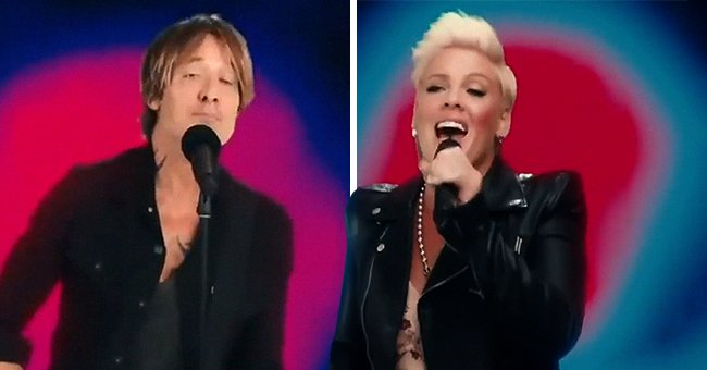 Watch Keith Urban & Pink's Great Collaboration on the Single 'One Too Many' at the ACM Awards