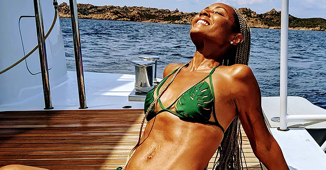 Check out Jada Pinkett-Smith's Hot Girl Summer Look in Revealing Green Swimsuit