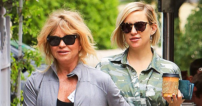 Goldie Hawn, 75, Defies Age in a Pic Daughter Kate Shared Showing Her in a Moment of Happiness