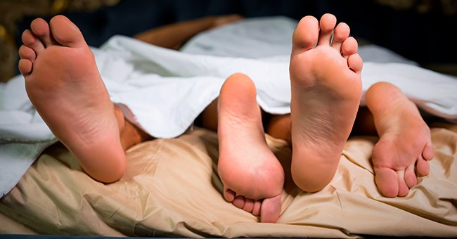 Daily Joke: Wife Comes Home Late at Night and Sees 4 Legs in Her and Her Husband's Bed