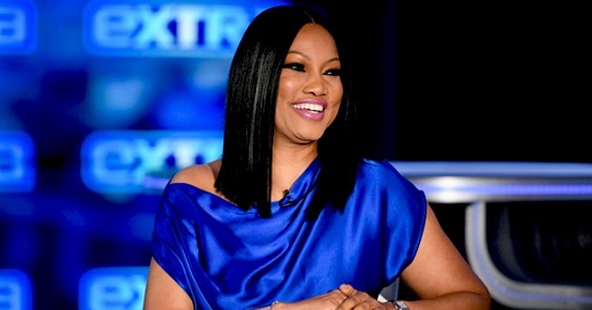 Garcelle Beauvais Is Ageing like Fine Wine Posing in Denim & Bright Makeup in a Stunning Snap