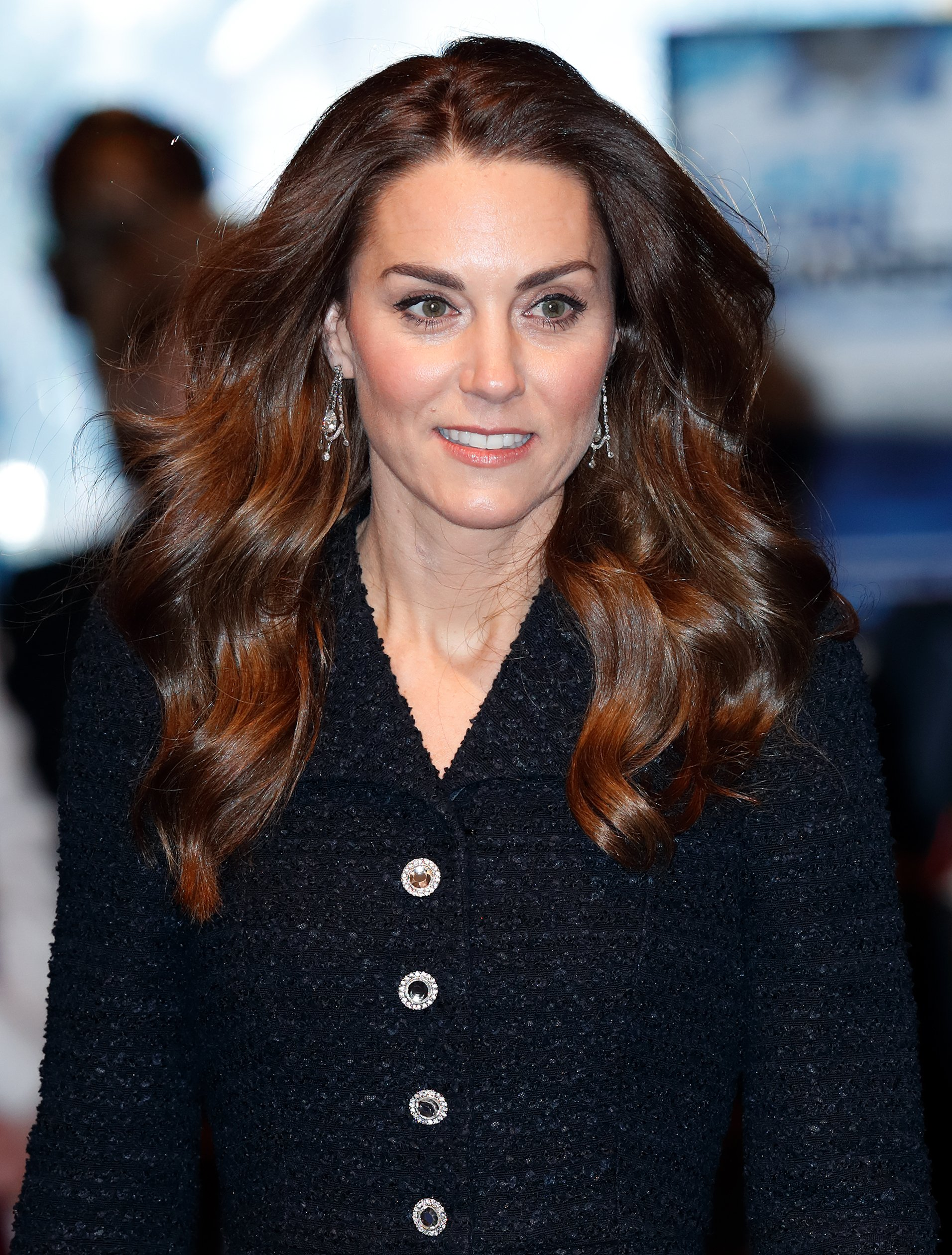 """Kate Middleton attends a charity performance of """"Dear Evan Hansen"""" in aid of The Royal Foundation on February 25, 2020 in London, England.   Source: Getty Images."""