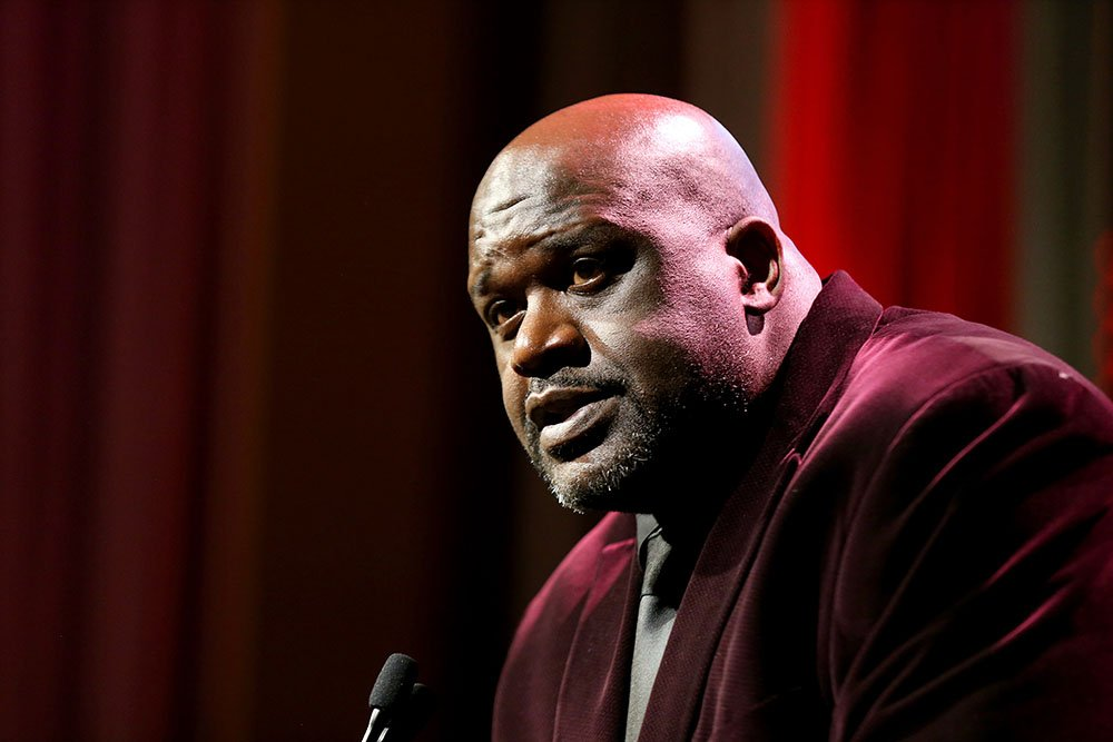 Shaquile O'Neal speaks onstage during the Sports Illustrated Sportsperson Of The Year 2019 at The Ziegfeld Ballroom on December 09, 2019 in New York City. I Image: Getty Images.