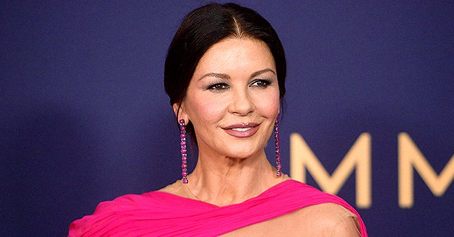 Catherine Zeta-Jones Gushes over Her Dad and Husband on Father's Day with a Rare Family Photo