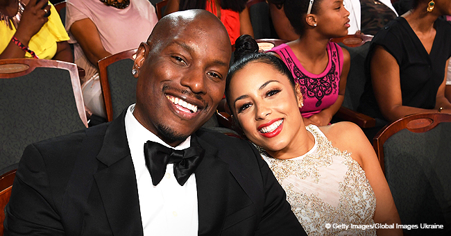 Tyrese Cuddles His Baby Girl Amid Legal Drama with Ex-Wife Norma