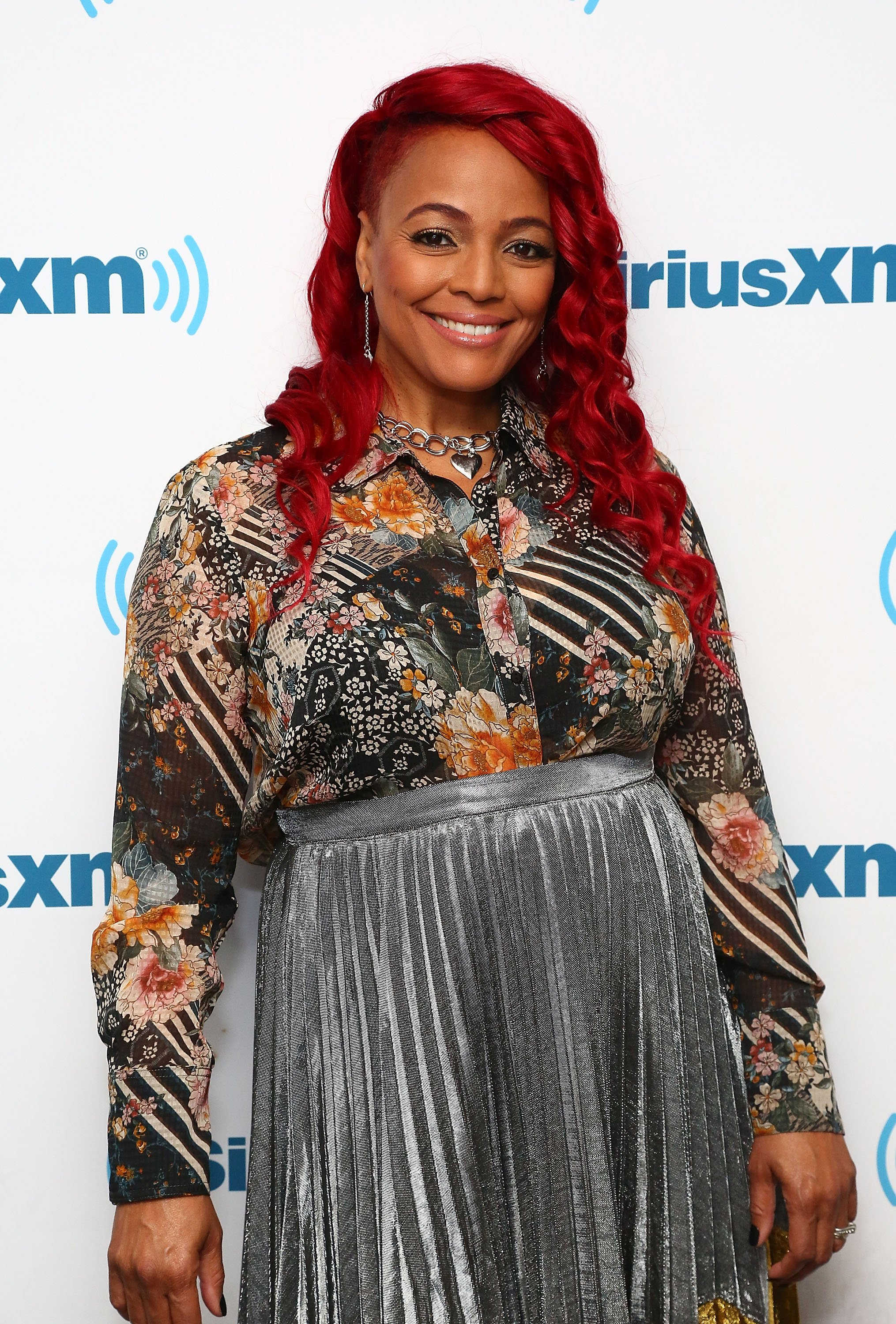 Kim Fields at SiriusXM in October 18, 2017.   Photo: Getty Images