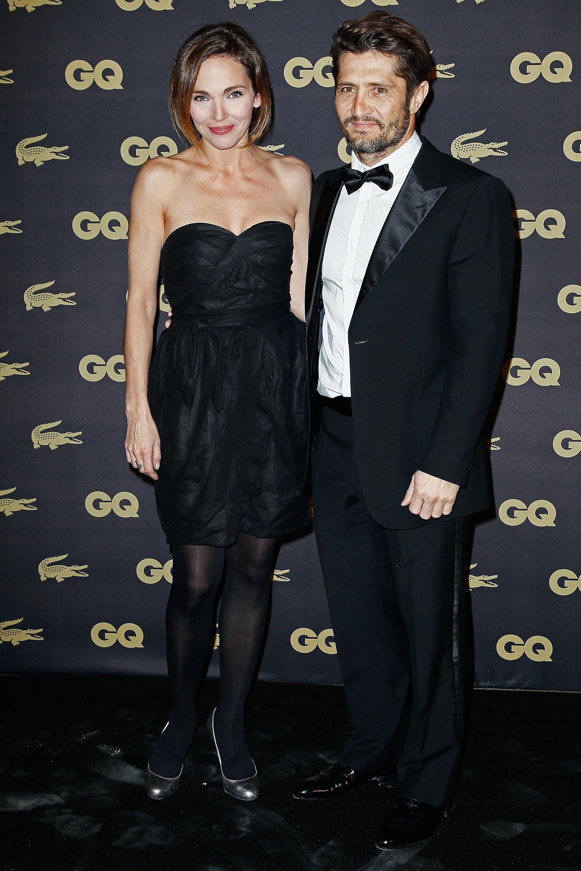 Claire Keim et Bixente Lizarazu le 16 janvier 2013 à Paris. l Source : Getty Images
