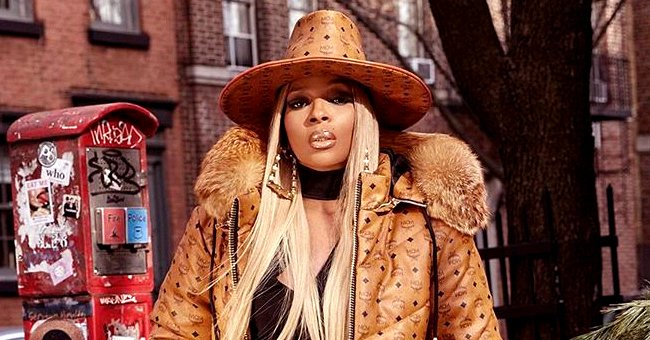Mary J Blige Rocks High-Waisted Jeans and a Custom Hat & Trench Coat in Stunning Photos for Her 49th Birthday