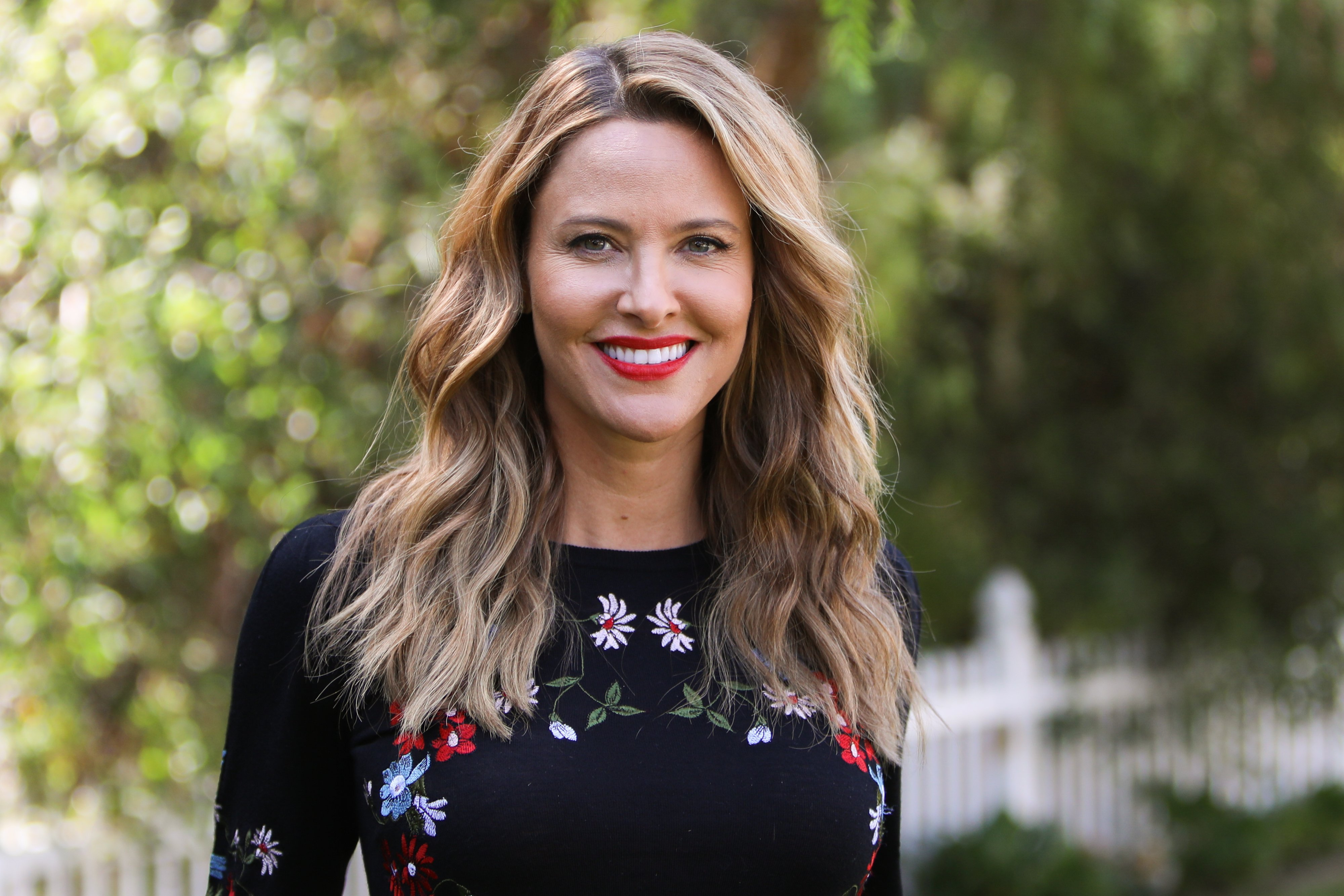 """Jill Wagner visits Hallmark Channel's """"Home & Family"""" at Universal Studios Hollywood on September 17, 2019 in Universal City, California. 