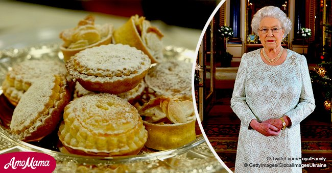Take a look inside Queen's Christmas menu, including 1,200 mince pies and delicious biscuits