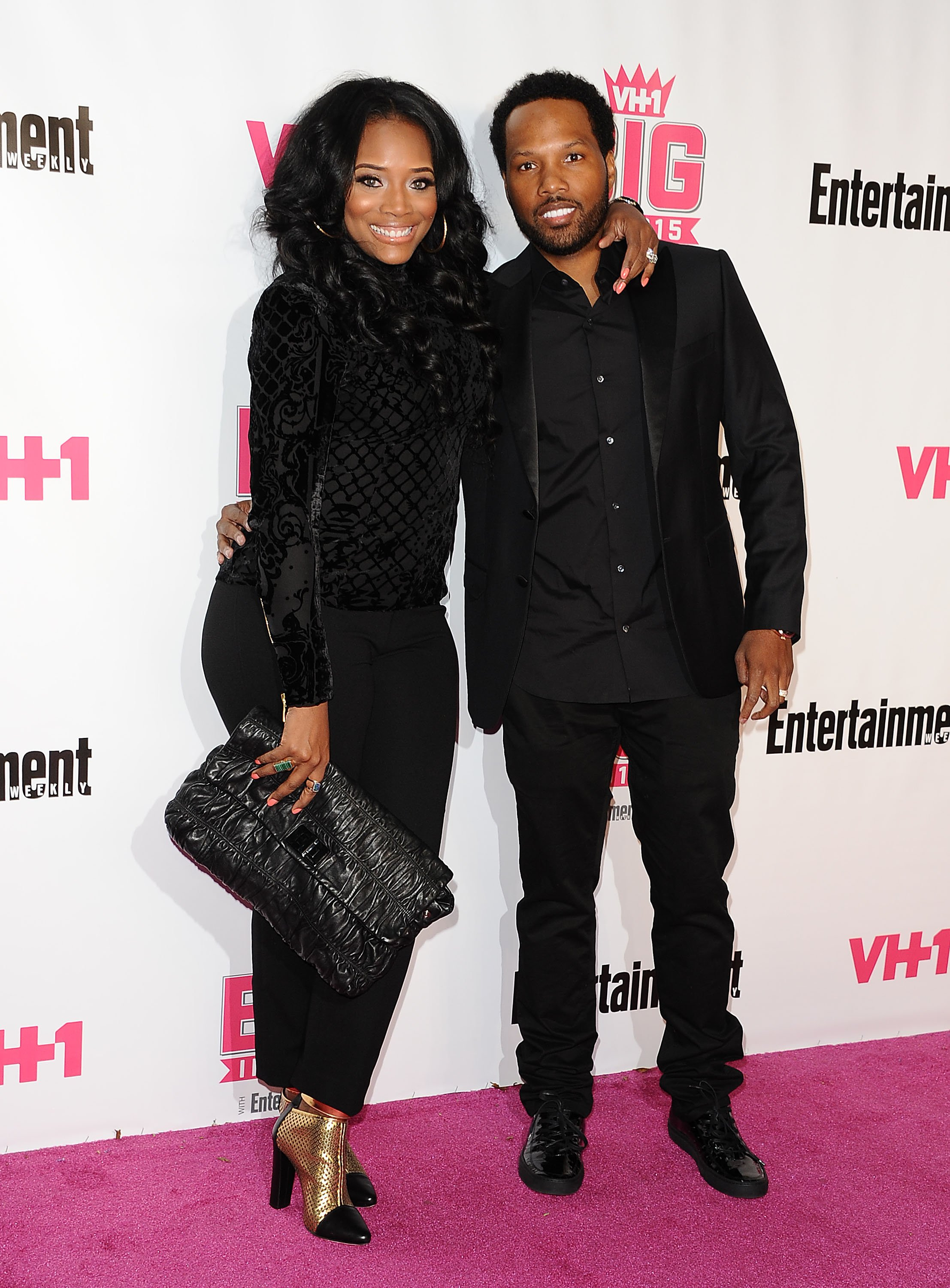 Yandy Smith Harris and Mendeecees Harris at the VH1 Big In 2015 with Entertainment Weekly Awards on Nov. 15, 2015 in California | Photo: Getty Images