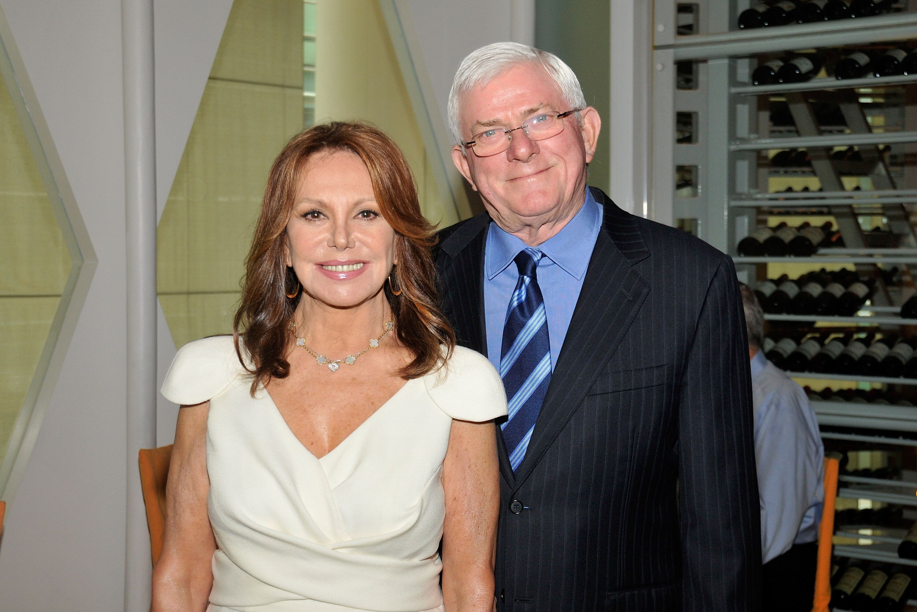 Marlo Thomas and Phil Donahue attend the 2011 Jefferson Awards for Public Service. | Source: Getty Images