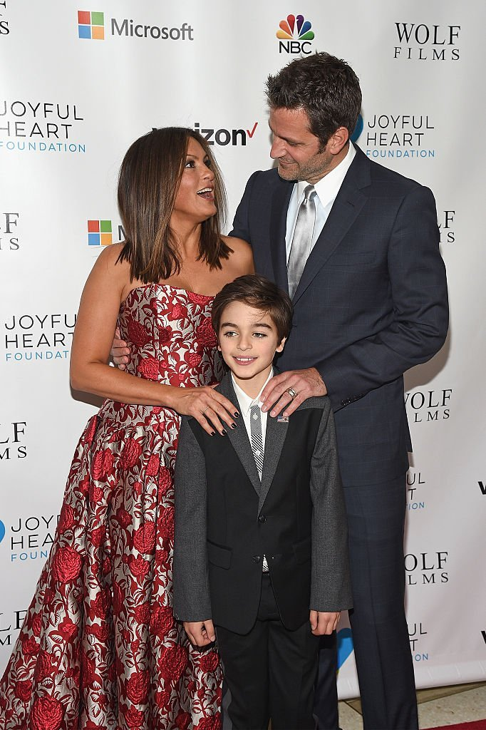 Joyful Heart Foundation Founder and President Mariska Hargitay, August Hermann, and actor Peter Hermann attend The Joyful Revolution Gala | Photo: Bryan Bedder/Getty Images