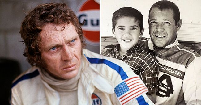 Steve McQueen's Grandson Chase Is All Grown up and He Looks so Much like His Late Grandfather