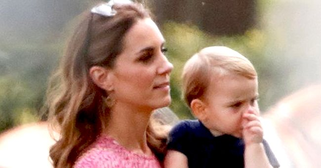 Duchess Kate Middleton Talks about Keeping up with Her Youngest Son Prince Louis