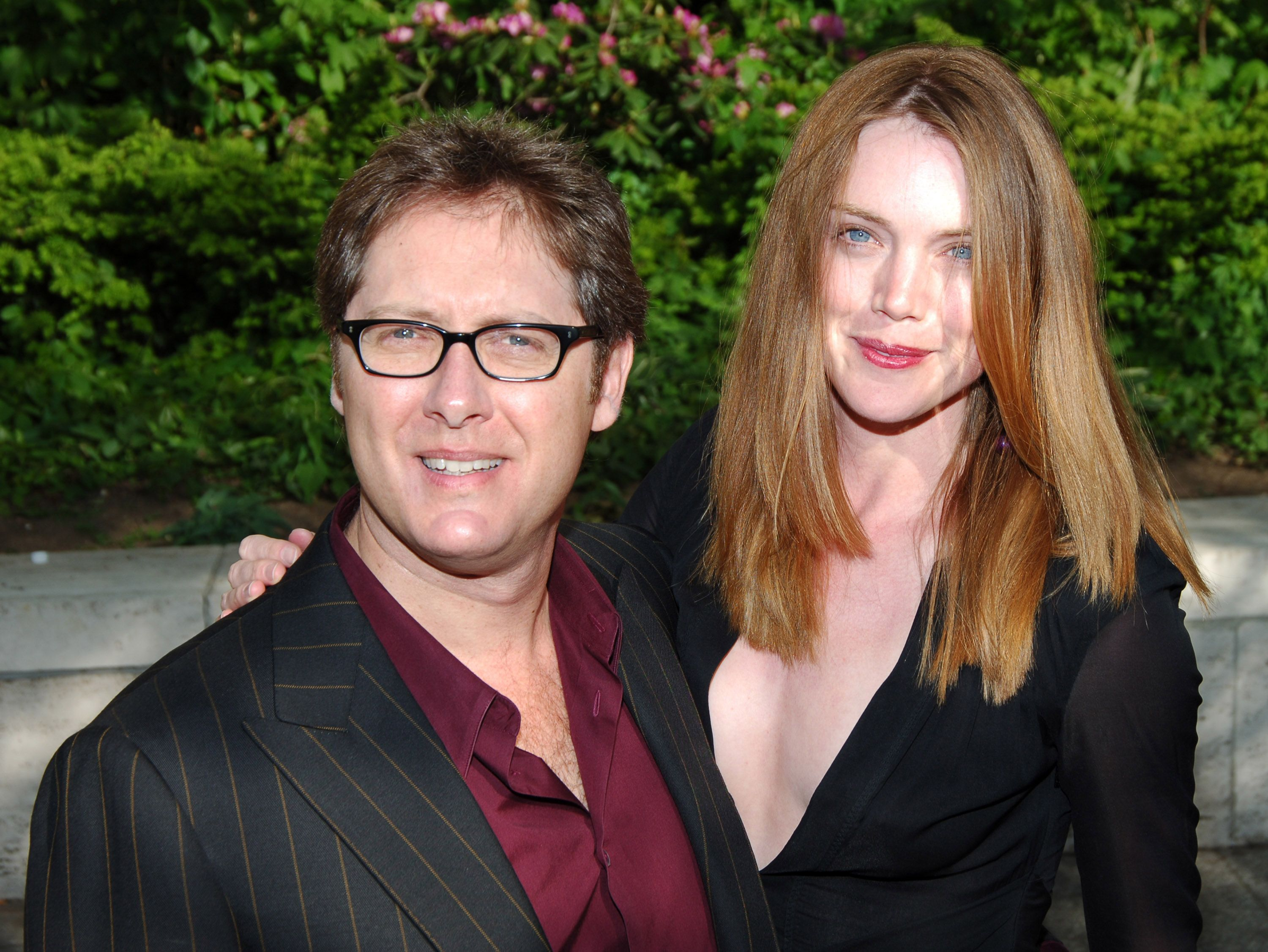 James Spader and fiancee Leslie Stefanson during 2005/2006 ABC UpFront in New York City | Source: Getty Images