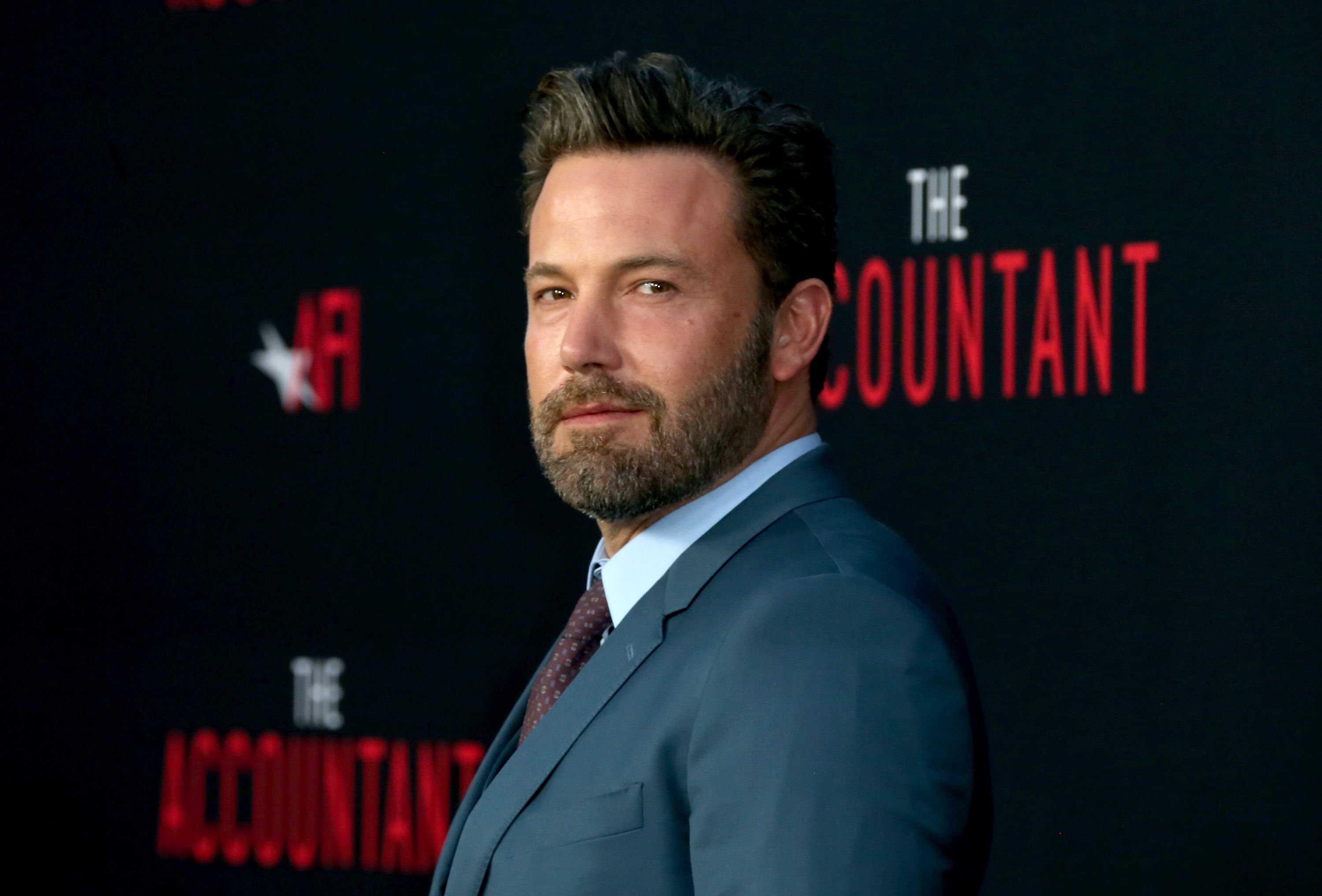 """Ben Affleck at the premiere of """"The Accountant"""" at TCL Chinese Theatre on October 10, 2016, in Hollywood, California 