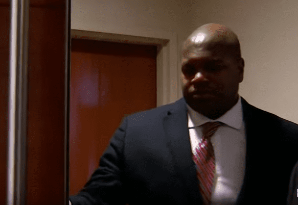 Former NFL player, Josh Brent making an appearance in Court to testify   Photo: YouTube/WFAA